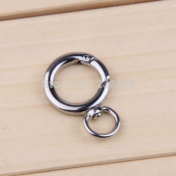 5 Pcs/ Lot paracord buckle Locking Mounting outdoor climbing Carabiner Snaphook Hook  key ring Holder keychain for the keys