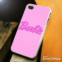 Barbie Pink iPhone 4 5 5c 6 Plus Case, Samsung Galaxy S3 S4 S5 Note 3 4 Case, iPod 4 5 Case, HtC One M7 M8 and Nexus Case