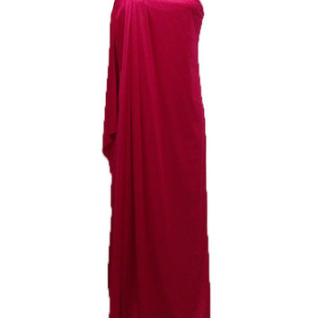 Vintage Halston One Shoulder Gown