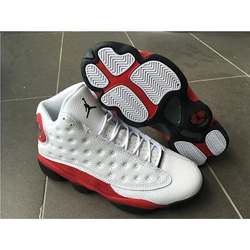 Air Jordan Retro 13 Chicago White Red Black Cat Men Women Basketball Shoes 13s Chicago Sneakers With Shoes Box