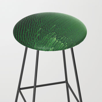 Field of Green Bar Stool by duckyb