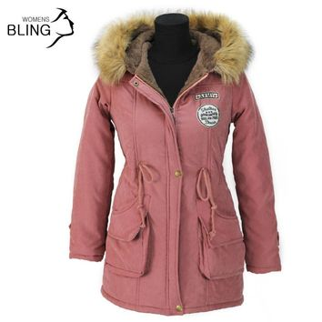 Women's Jackets Coats Outerwear cotton Wadded