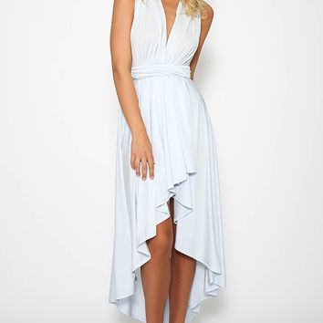 Sippin On Fire Dress - Light Blue