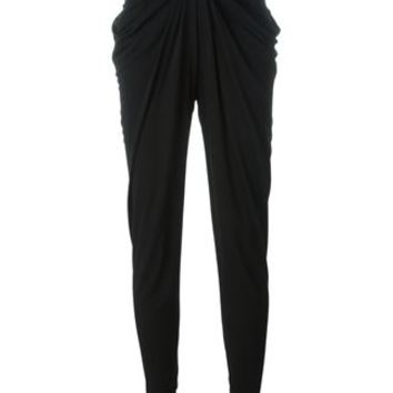 Balmain Draped Trousers - Layers - Farfetch.com
