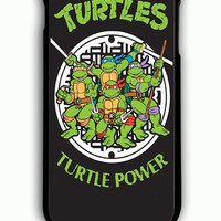 iPhone 6 Plus Case - Rubber (TPU) Cover with Teenage Mutant Ninja Turtles Hero Rubber Case Design