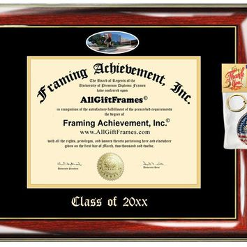 AllGiftFrames Custom Diploma Frame Embossed Drexel University Best Graduation Degree Frame Double Mat Campus Fisheye Picture Frame Cheap Degree Certificate Drexel Graduate Gift
