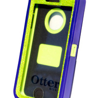 OtterBox Defender Series Case iPhone 5/5s Glitter Cute Sparkly Bling Defender Series Custom Case Purple / Green