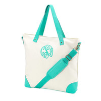 CUSTOM Monogram Shoulder Bag -- Perfect for Trips, Books, and anything you need!