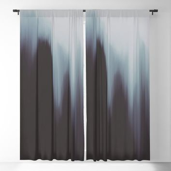 Glitch Stranger Blackout Curtain by duckyb