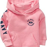 Old Navy Fleece Logo Hoodies For Baby