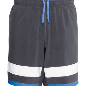 H&M - Tennis Shorts - Dark gray - Men