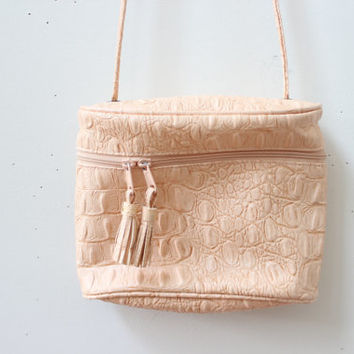 Pale Pink Tassle Bag