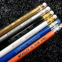 Wizard Quotes Pencil Set