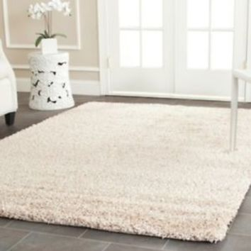 Solid Tan Beige Cream Shag Area Rug Rugs Carpet 4 6 5 8 7 10 8 10 13 9 12 11 15