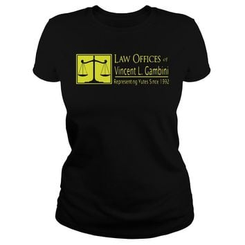 Law Offices of Vincent L Gambini youth tee Ladies Tee