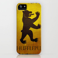 Harry Potter Hogwarts House Banner Hufflepuff iPhone Case by Nicholas Hyde | Society6