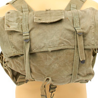 Original U.S. WWII M-1941 USMC 2nd Pattern Backpack