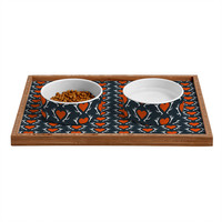 Caroline Okun Love Hunt Pet Bowl and Tray