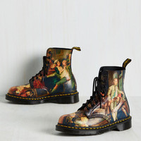 Off to a Good Art Boot | Mod Retro Vintage Boots | ModCloth.com