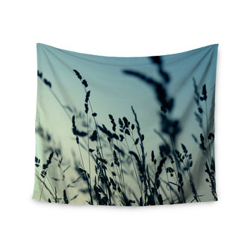 "Ingrid Beddoes ""Cool Breeze"" Blue Yellow Wall Tapestry"