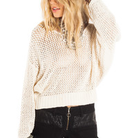 Amuse Society Coastal Sweater Casablanca