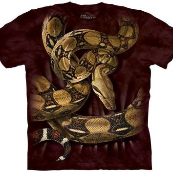 BOA CONSTRICTOR SQUEEZE - ADULT T SHIRT