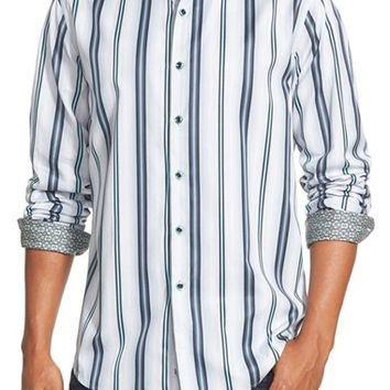 Men's Robert Graham 'Berkshire' Classic Fit Stripe Sport Shirt,