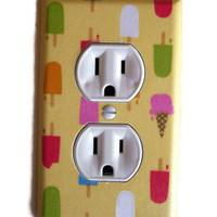 Ice Pops and Ice Cream Dream Outlet Plate