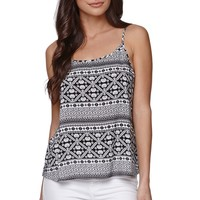 LA Hearts Swing Fair Isle Cami - Womens Shirts