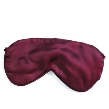 100% Mulberry Silk Therapeutic Sleep Mask - 25 Momme