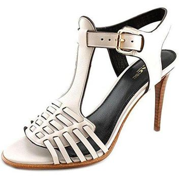 LMF3DS Coach Woman's Izzy Hell Sandal Chalk