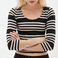 Multi-Stripe Crop Top