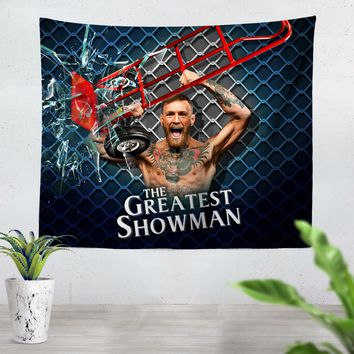 Conor Mcgregor Greatest Showman Tapestry