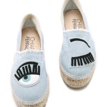 Canvas Eyes Espadrilles