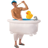 Inflatable Bath Tub Costume