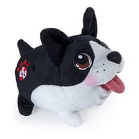 Chubby Puppies Plush, Boston Terrier