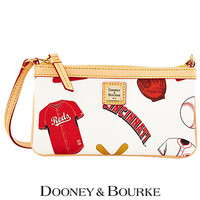 Cincinnati Reds Large Slim Wristlet by Dooney & Bourke - MLB.com Shop