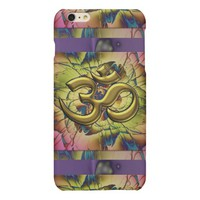 Pink Gold and Lavender Blooming Om iPhone 6 Case