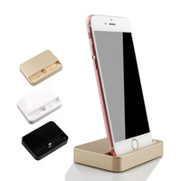 Portable Desktop Data Sync USB Cradle Dock Charger Charging Station For iPhone 5 5S 6 6S