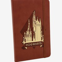 Harry Potter Hogwarts Faux-Leather Journal