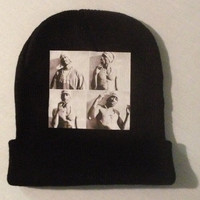 """KB """"Pac Faces"""" A collection of 4 different images of the icon Tupac Shakur."""