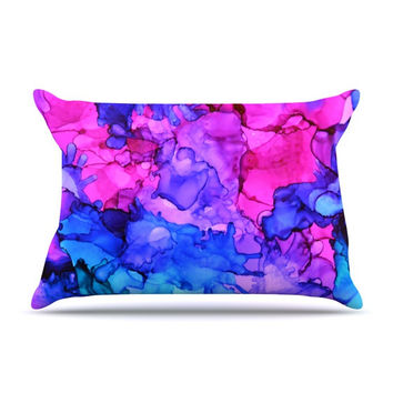 """Claire Day """"Audrey"""" King Pillow Case - Outlet Item"""