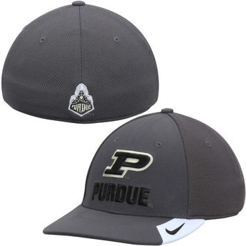 new style 5dc21 9cc6f Purdue Boilermakers Nike Conference Legacy 91 Performance Flex Hat –  Anthracite