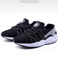 """""""Nike Air Huarache"""" Couple Fashion Casual Polka Dots Straps Strappy Sneakers Shoes Male Female"""