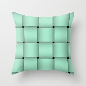 TEALLS Throw Pillow by violajohnsonriley