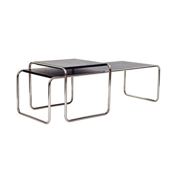 2-Pc. Nesting Cross Coffee Tables