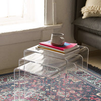 Acrylic Nesting Tables - Urban Outfitters