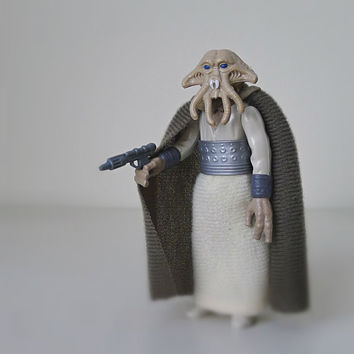 Star Wars Figure, Squid Head, 1983 Kenner - action figure, toys, for men, kids toy, sci fi, 80s toy, movie toy, alien, monster