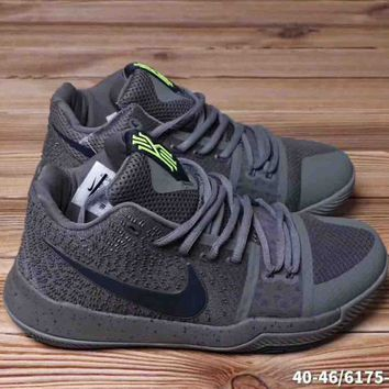 Nike Kyrie 3 EP Men Trending Casual Running Sports Sneakers Shoes Black G-A36H-MY