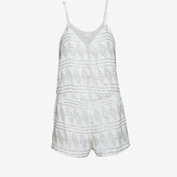 PARKER HARRISON BEADED ROMPER